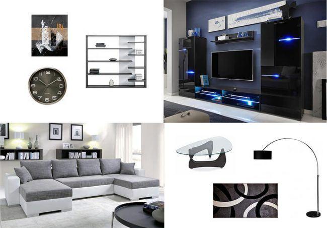 Moderní obývací sestava