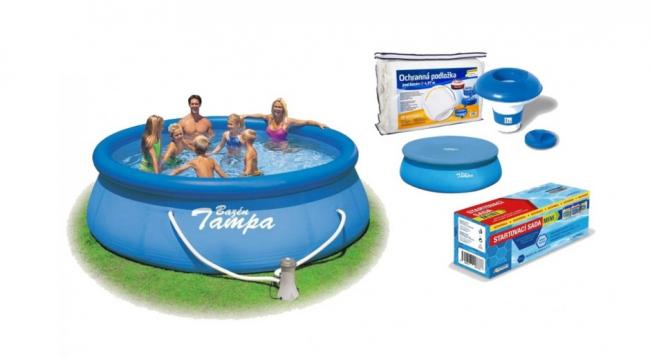 Jak udržovat vodu v bazénu